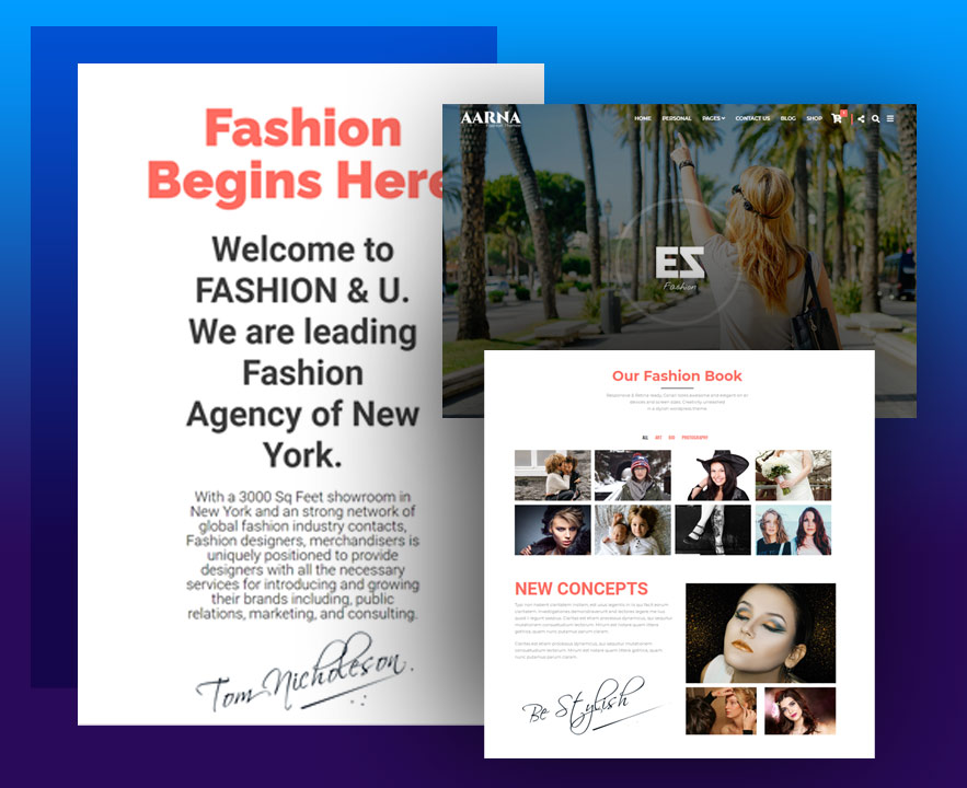 AARNA Fashion WooCommerce Theme