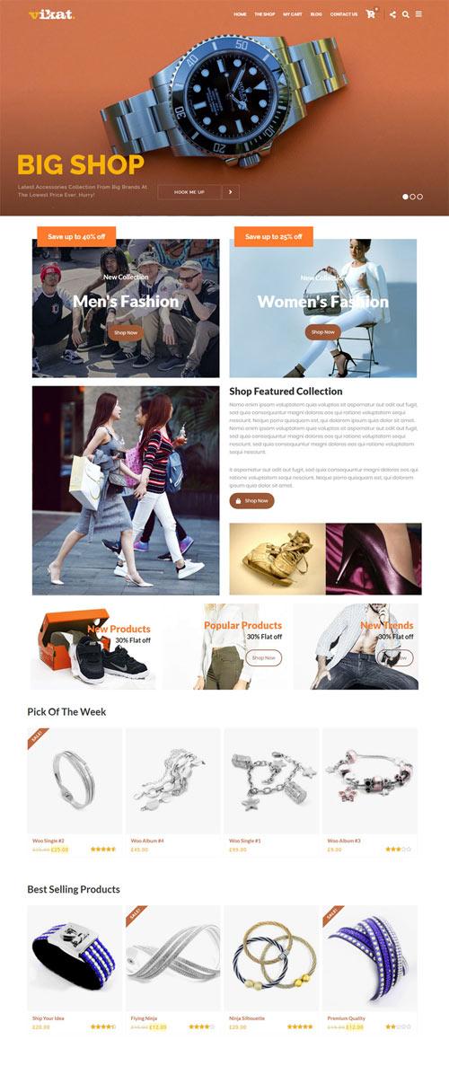 HAMSI WooCommerce Wordpress Theme