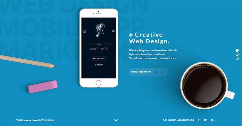 Jetaa personal branding wordpress theme