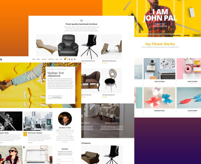 VIKAT : Branding WordPress Theme