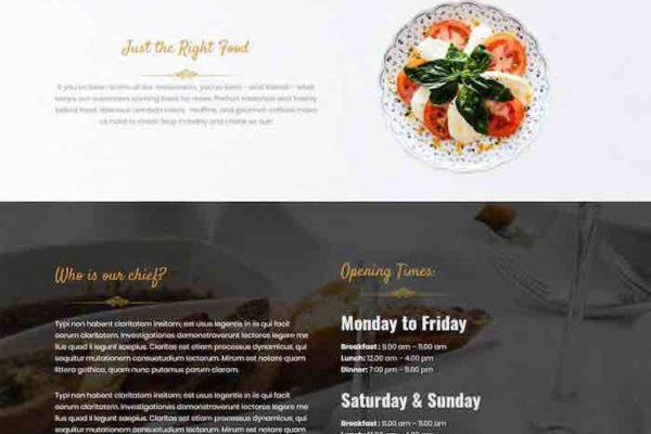 Restaurant WordPress Theme - Amala
