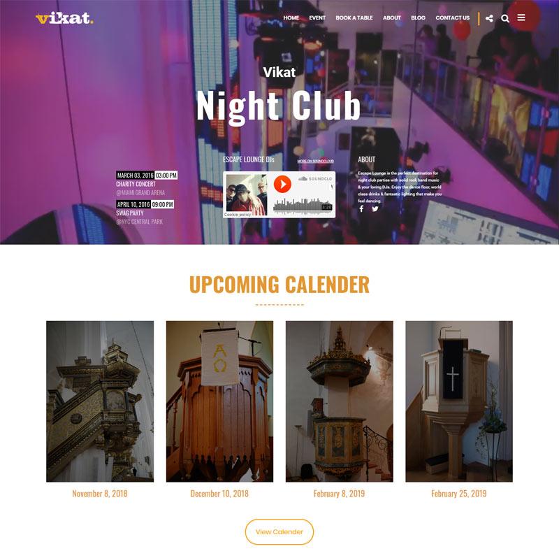 ANANG : Pub Bar WordPress Theme