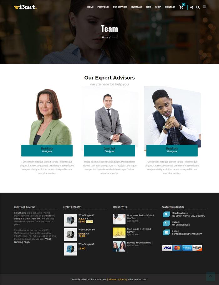 Corportate Responsive WordPress Theme