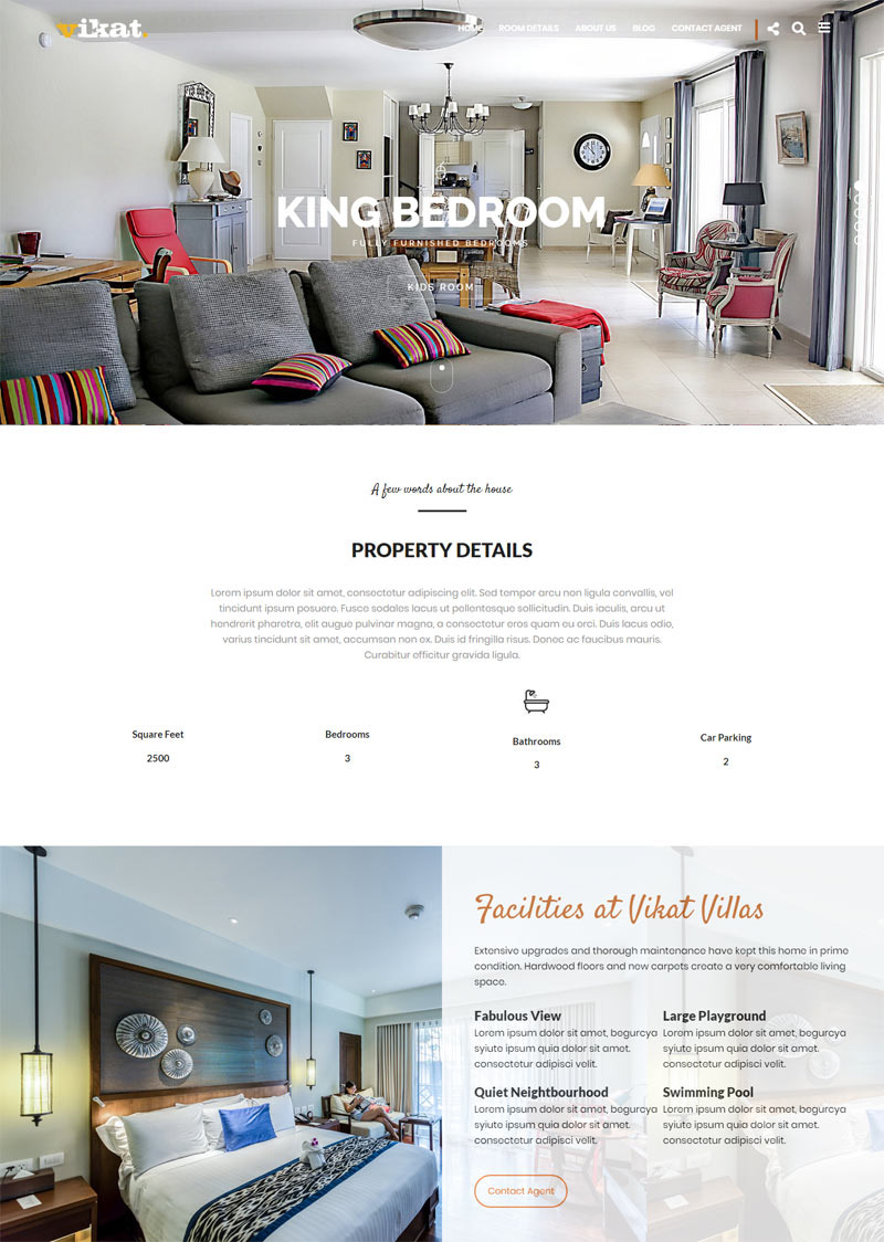 VAMA : Real Estate WordPress Theme