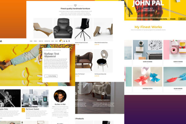 Vikat personal branding WordPress theme