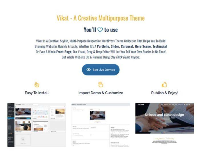 Branding Wordpress Theme
