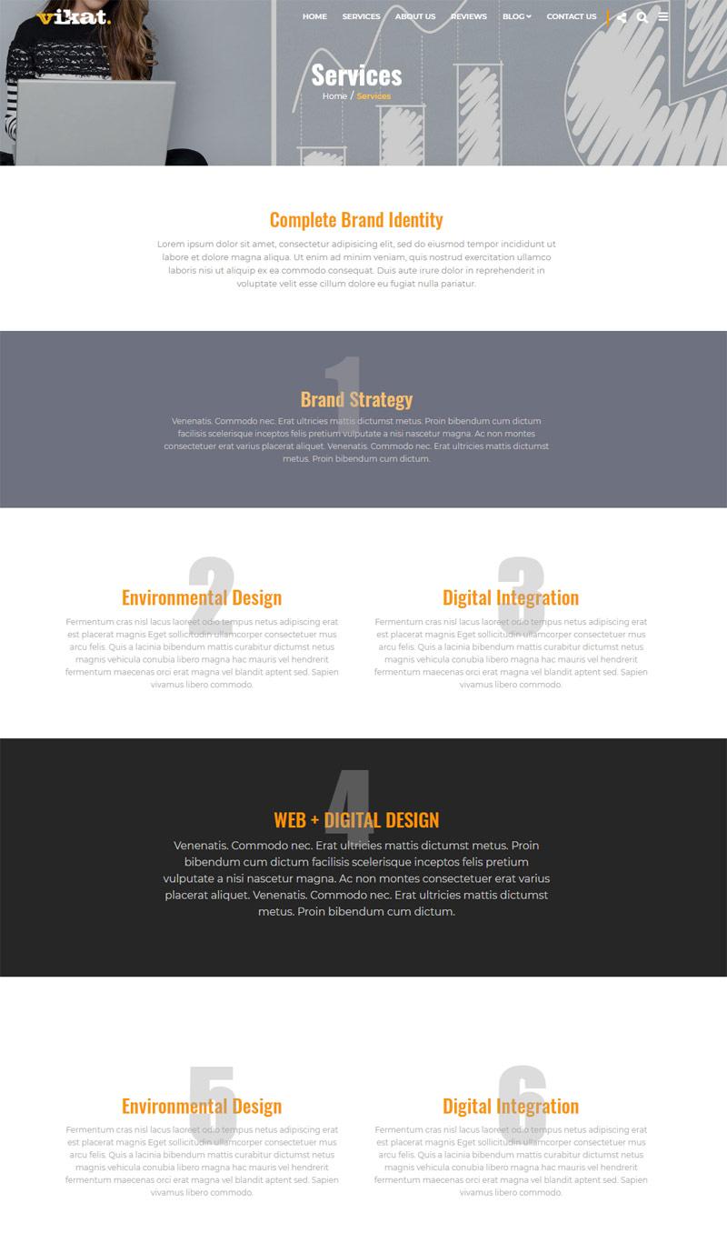 Creative Marketing Wordpress Theme