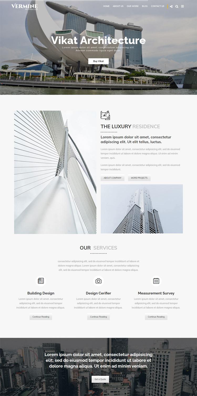 VARMINE : Architecture WordPress Theme